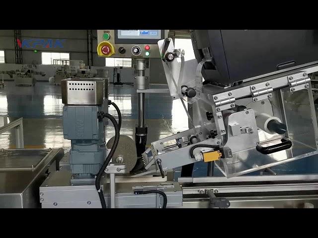 Автоматична С-образна машина за етикетиране на мида