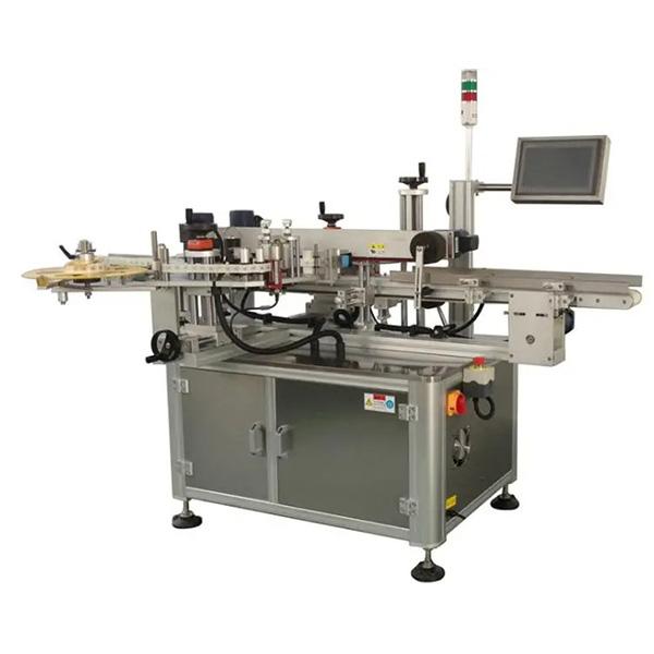 Автоматична машина за етикетиране на ъглови кашони - Машина за етикетиране на една или две странични кашони