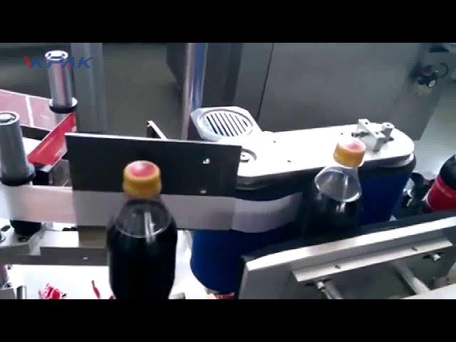 Автоматична машина за етикетиране на бутилки Cola