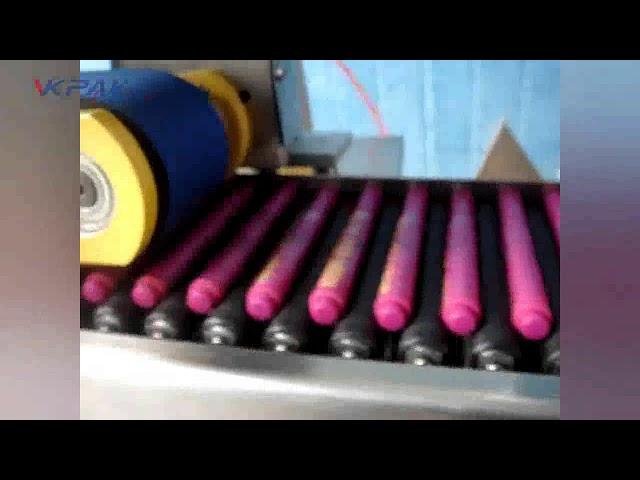 Автоматична машина за етикетиране на балсам за устни Crayons