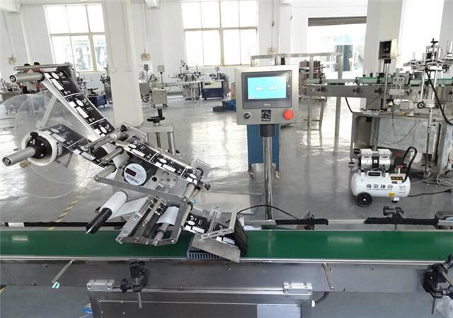 Автоматични машини за етикетиране с плоска горна повърхност за картонени кутии Подробности