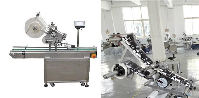 Автоматични машини за етикетиране с плоски повърхности за картонени кутии