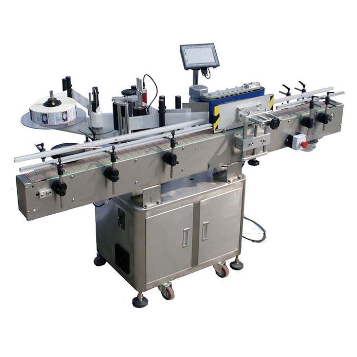 Автоматична машина за етикетиране на лепенки с кръгла бутилка