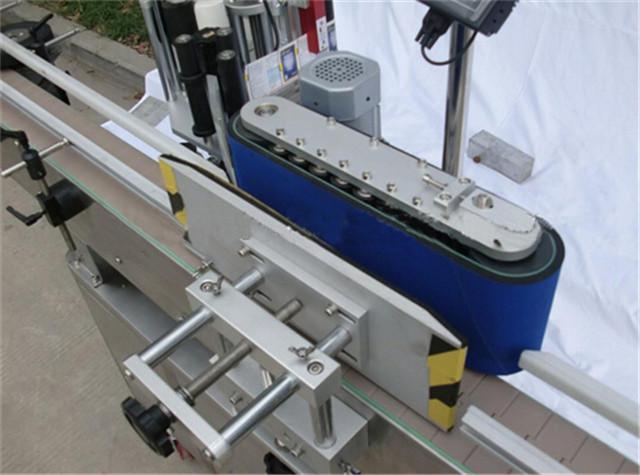 Детайли за автоматична вертикална машина за етикетиране на кръгла бутилка