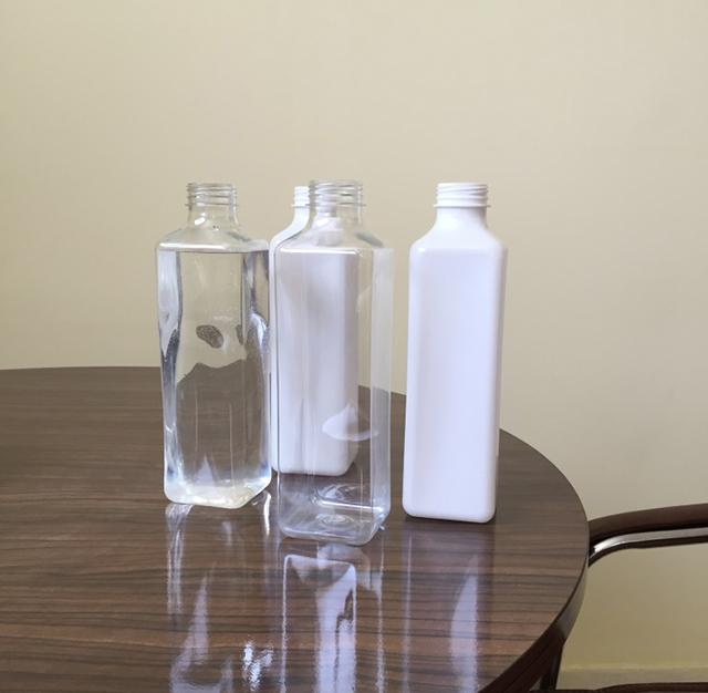 Автоматични вертикални квадратни бутилки Четиристранна машина за етикетиране Детайли 2