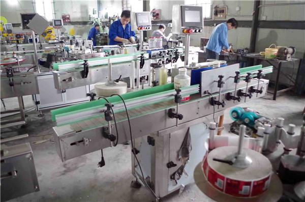Двустранно незалепващо етикетиращо оборудване за детайли от пластмасови стъклени бутилки