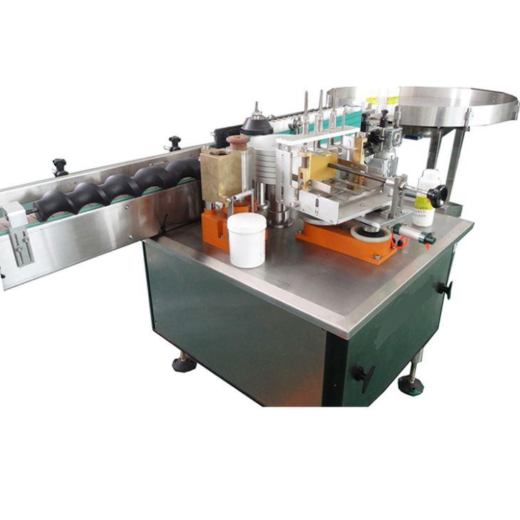 Пълна автоматична машина за етикетиране на етикети с мокър лепило за алкохолни продукти