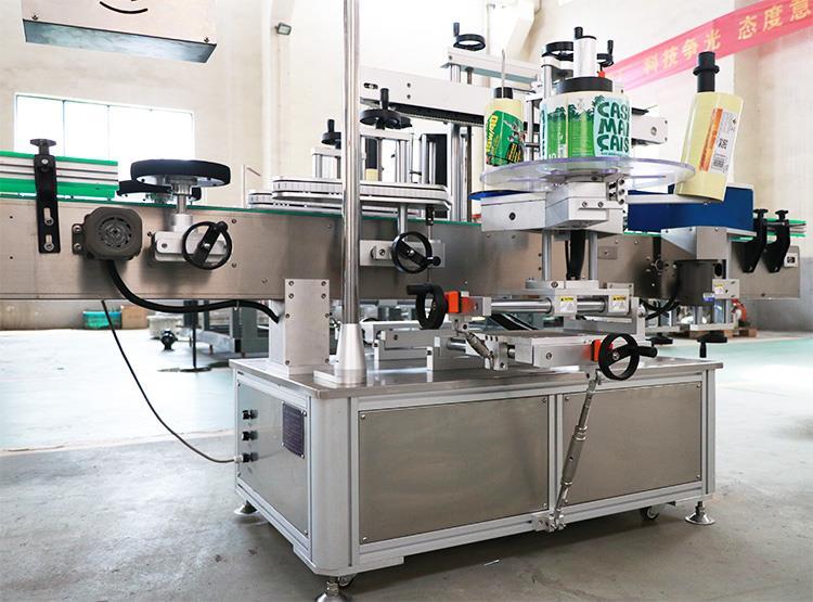 Напълно автоматична машина за етикетиране на самозалепващи се двустранни стикери