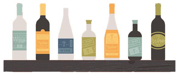 Оборудване за етикетиране на вино